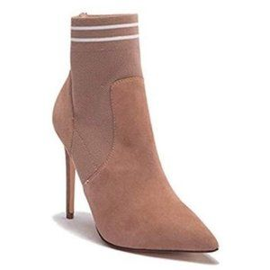 STEVE MADDEN | Emilia Suede Pointy Toe Ankle Boots